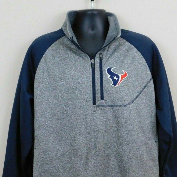 NFL Other - NFL Houston Texans Pullover Jacket Sz XL